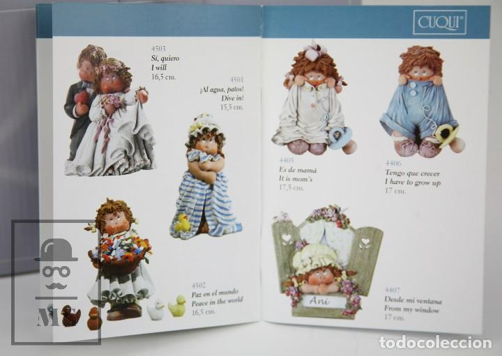 Antigüedades: Figura de Resina - Cuqui. Preparando el Invierno - Ref. 4703 - Magda Genestar - Edición Numerada - Foto 6 - 127040267