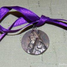 Antigüedades: MEDALLA DE N. P. JESÚS NAZARENO, DE LA COFRADIA MARRAJA DE CARTAGENA.. Lote 187124543