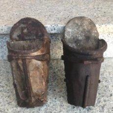 Antigüedades: ESTRIBOS, MADERA Y FORJA, SIGLO XIX. Lote 127141931