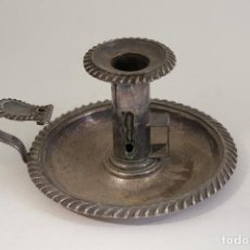 Antigüedades: PALMATORIA PLATEADA. Lote 127180971
