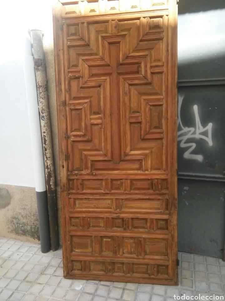 PUERTA DE SACRISTIA (Antigüedades - Muebles Antiguos - Bargueños Antiguos)