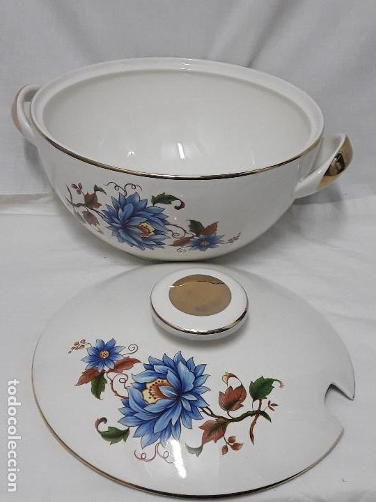 Antigüedades: Sopera de porcelana Standar San Claudio Spain - Foto 3 - 127213523