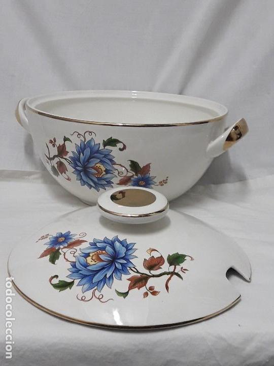 Antigüedades: Sopera de porcelana Standar San Claudio Spain - Foto 4 - 127213523