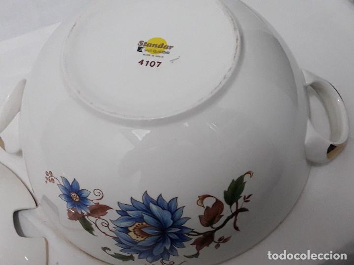 Antigüedades: Sopera de porcelana Standar San Claudio Spain - Foto 5 - 127213523