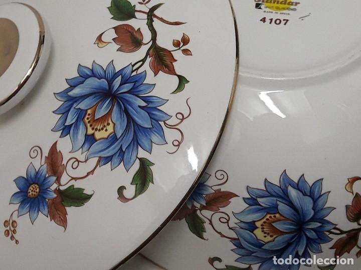 Antigüedades: Sopera de porcelana Standar San Claudio Spain - Foto 7 - 127213523