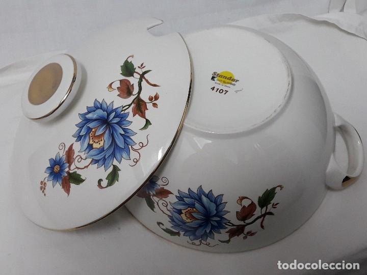 Antigüedades: Sopera de porcelana Standar San Claudio Spain - Foto 9 - 127213523