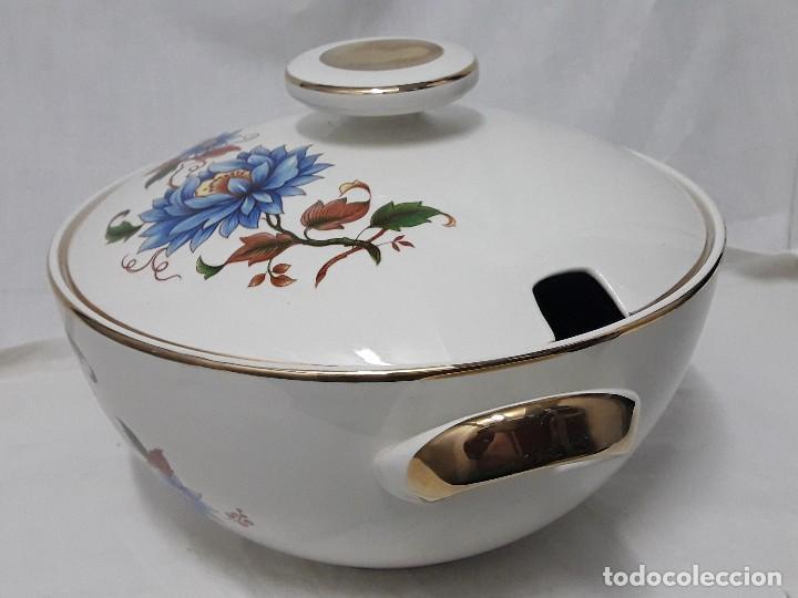 Antigüedades: Sopera de porcelana Standar San Claudio Spain - Foto 10 - 127213523