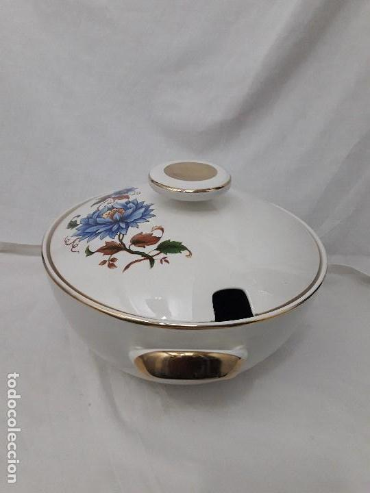 Antigüedades: Sopera de porcelana Standar San Claudio Spain - Foto 11 - 127213523