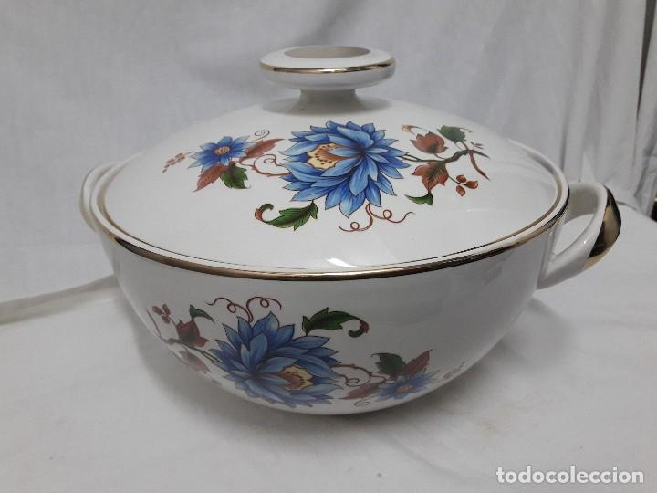 Antigüedades: Sopera de porcelana Standar San Claudio Spain - Foto 12 - 127213523