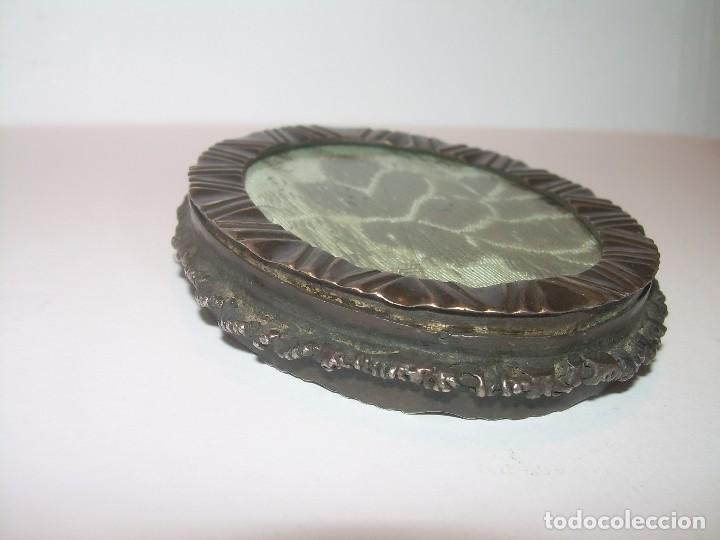 Antigüedades: ANTIGUO RELICARIO SIGLO XVII...DE PLATA....GRANDES DIMENSIONES. - Foto 6 - 127215879