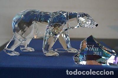 POLAR BEAR SCS 2011 SWAROVSKI (Antigüedades - Cristal y Vidrio - Swarovski)