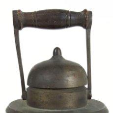 Antigüedades: ANTIGUO FAROL DE JEFE DE ESTACIÓN FERROVIARIA. PETROLEO. SIGLO XIX-XX. . Lote 127220723