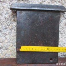 Antigüedades: CHAPA TIRADOR HIERRO PARA REGULAR PASO AIRE EN CHIMENEAS COCINAS CARBON ETC, 900GR + INFO . Lote 127241659