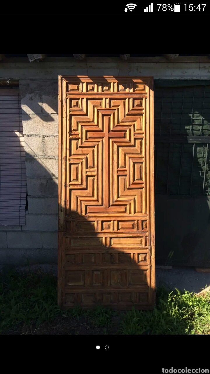 Antigüedades: Puerta de sacristia - Foto 3 - 127207579