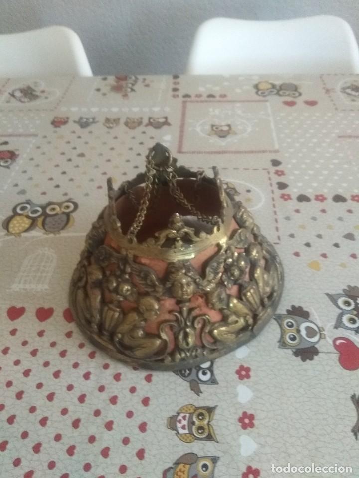PRECIOSO APLIQUE DE PARED O LAMPARA DE COLGAR (Antigüedades - Iluminación - Apliques Antiguos)