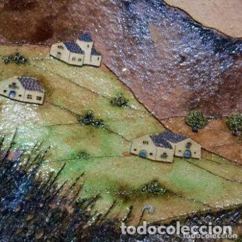 Antigüedades: Plato de cerámica de Alquimia firmado y fechado - Foto 3 - 127345359