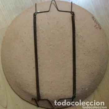 Antigüedades: Plato de cerámica de Alquimia firmado y fechado - Foto 4 - 127345359