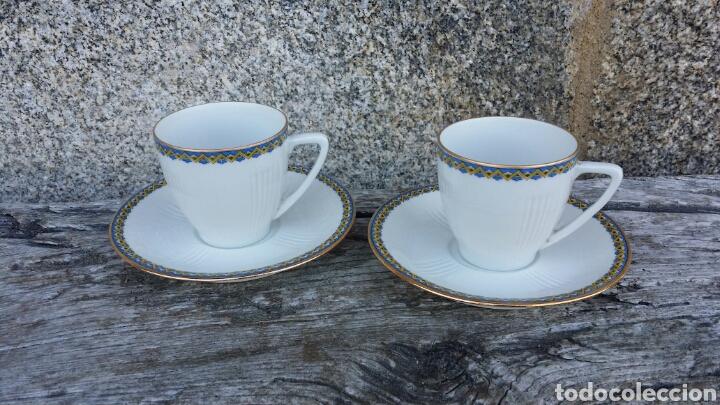 Antigüedades: Antiguo juego de café Limoges 11 servicios - Foto 13 - 127437872