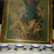 Antigüedades - 4 tazas Santa Clara - 127462123