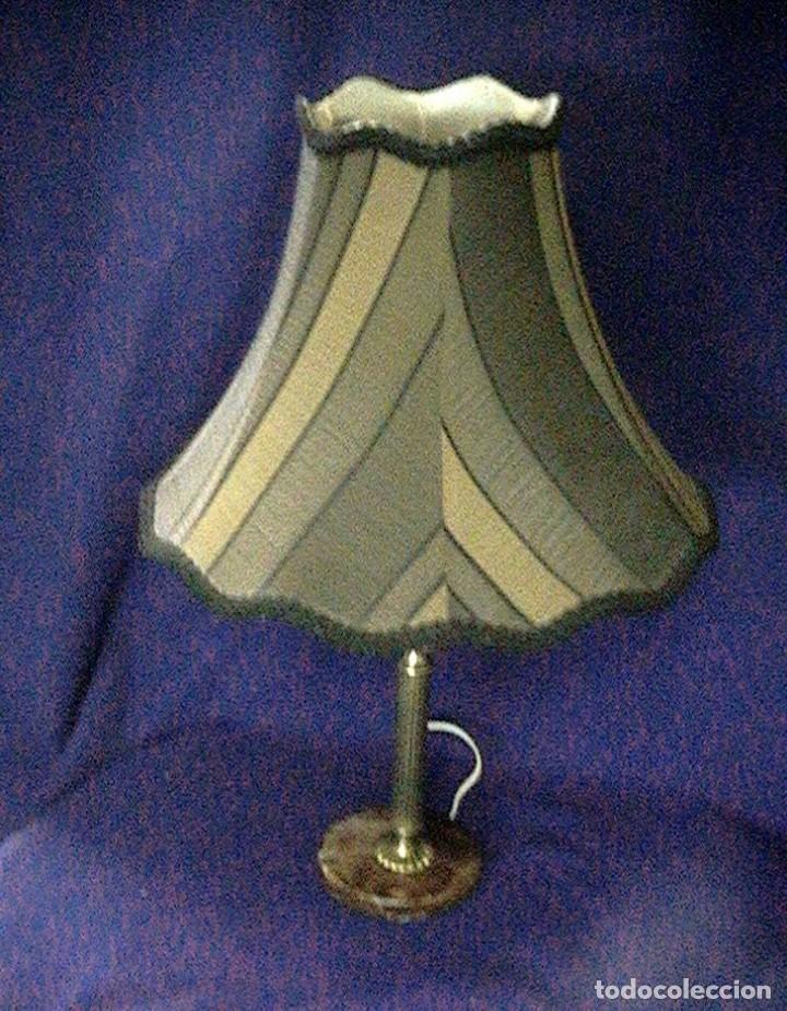 LÁMPARA ANTIGUA TULIPA (Antigüedades - Iluminación - Lámparas Antiguas)