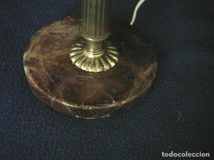 Antigüedades: lámpara antigua tulipa - Foto 2 - 127485115