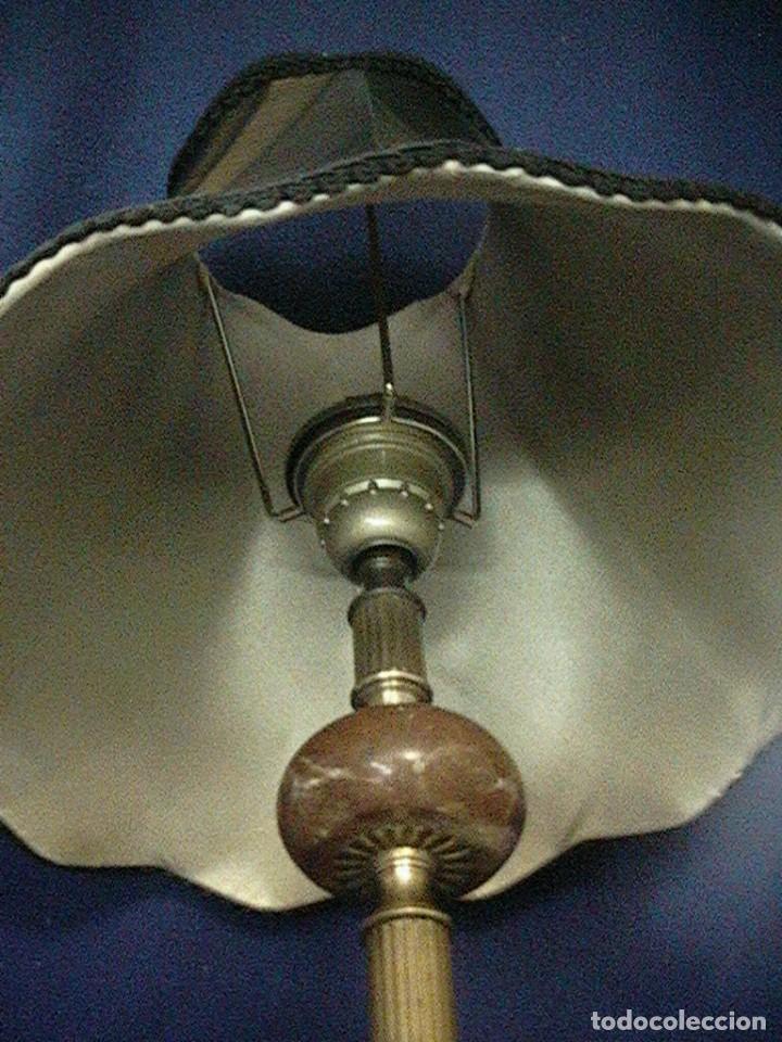 Antigüedades: lámpara antigua tulipa - Foto 4 - 127485115