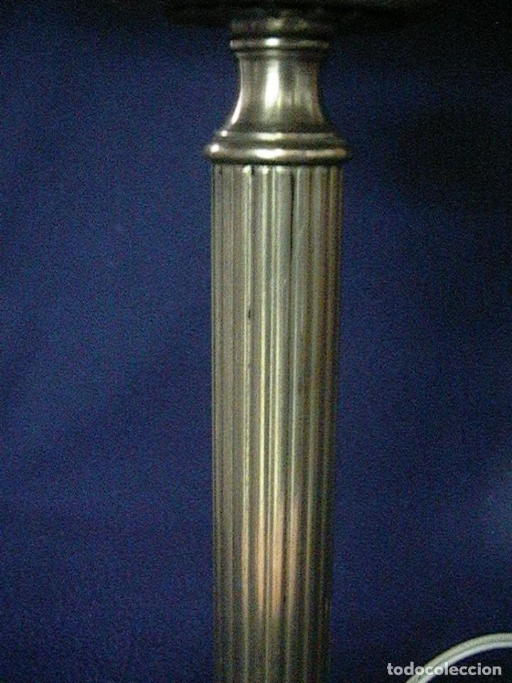Antigüedades: lámpara antigua tulipa - Foto 8 - 127485115