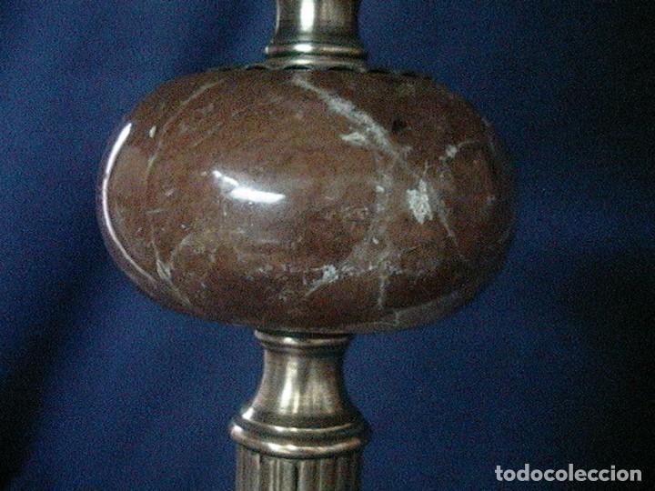 Antigüedades: lámpara antigua tulipa - Foto 10 - 127485115