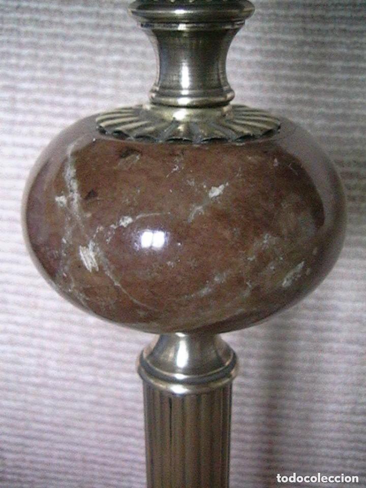 Antigüedades: lámpara antigua tulipa - Foto 12 - 127485115