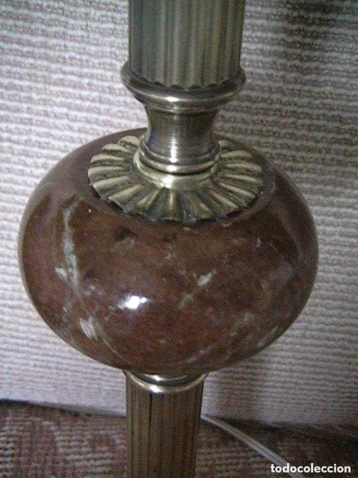 Antigüedades: lámpara antigua tulipa - Foto 13 - 127485115