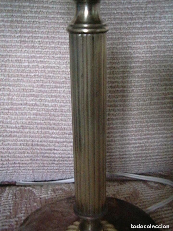 Antigüedades: lámpara antigua tulipa - Foto 14 - 127485115