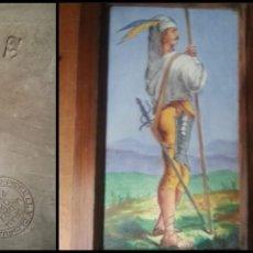 Antigüedades: PLACA PICKMAN - ESCUCHO OFERTA . CARTUJA SEVILLA COMPAÑIA CHINA OPACA PARIS 78 N 32 MILITAR SOLDADO . Lote 127498167