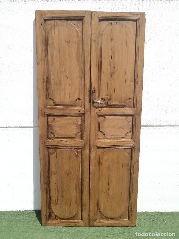 Puerta antigua de interior comprar antig edades varias for Puertas de cuarterones antiguas