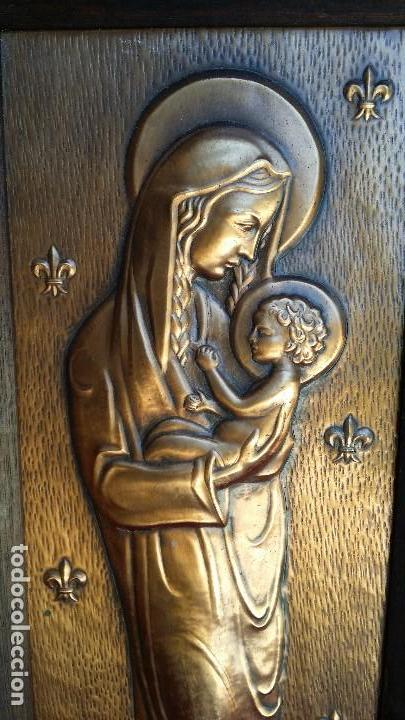 Antigüedades: Bonita Virgen. - Foto 2 - 127562555