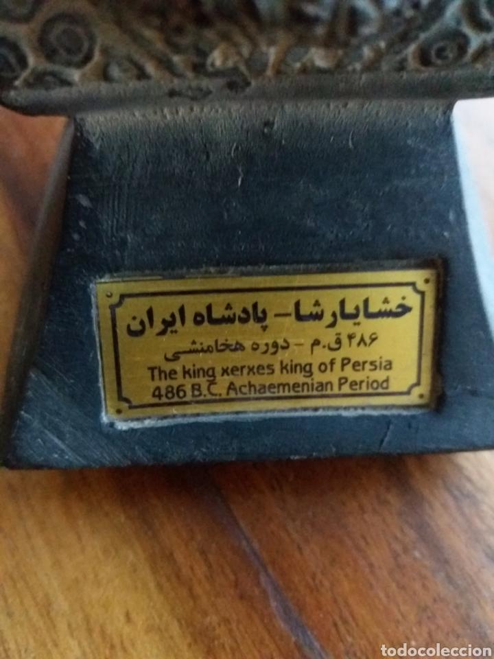 Antigüedades: Busto Rey Jerges Persia - Foto 2 - 127574634