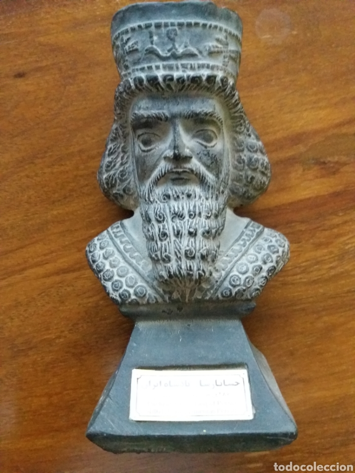 Antigüedades: Busto Rey Jerges Persia - Foto 4 - 127574634