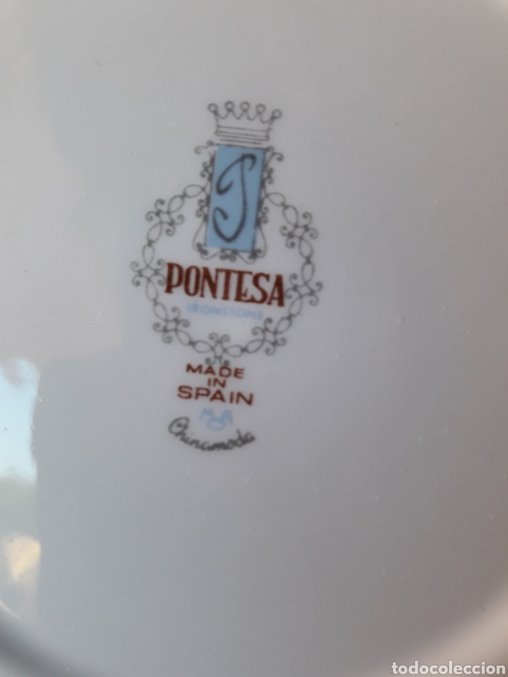 Antigüedades: Platos de Pontesa Chinamoda - Foto 4 - 127587607