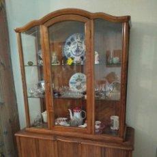 Antigüedades: MUEBLE VITRINA. Lote 127589980