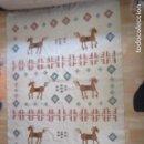 Antigüedades: PRECIOSA ALFOMBRA LANA - TIPO KILIM - 195 X 140 CM SIN FLECOS. Lote 127601491