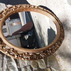 Antigüedades: ESPEJO DE PASTA. Lote 127601555