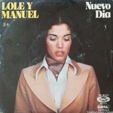 Discos de vinilo: DISCO LOLE Y MANUEL. Lote 127609718