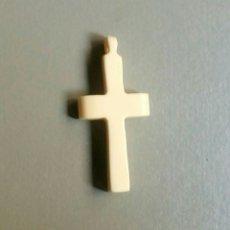 Antiquitäten - Bonita cruz antigua de marfil hueso - 127621927