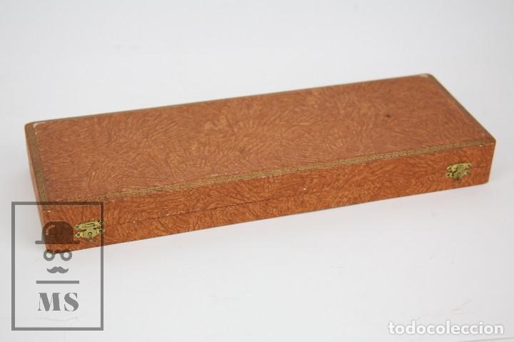 Antigüedades: Antigua Pala de Postre Art Déco - Mango de Plata Repujada - Casa Deulofeu, Badalona -Principios S XX - Foto 13 - 127638883