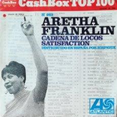 Discos de vinilo: DISCO ARETHA FRANKLIN. Lote 127644064