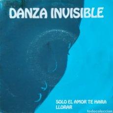 Discos de vinilo: DISCO DANZA INVISIBLE. Lote 127645094