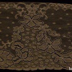 Antigüedades: ANTIGUO ENCAJE ART DECO PPIO. S. XX. Lote 127682155
