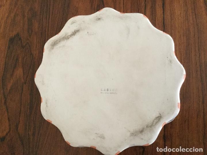 Antigüedades: CENICERO CASTRO PORCELANA GALICIA. SARGADELOS - Foto 4 - 127727595
