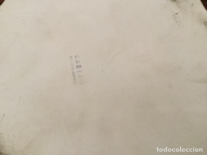 Antigüedades: CENICERO CASTRO PORCELANA GALICIA. SARGADELOS - Foto 5 - 127727595