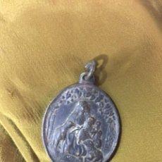 Antigüedades: MEDALLA ANTIGUA DE LA DIVINA PASTORA. Lote 127764267