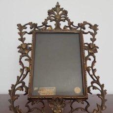 Antigüedades: MARCO DE BRONCE. Lote 127785127